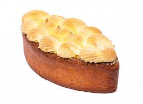 Кекс лимонный с меренгой