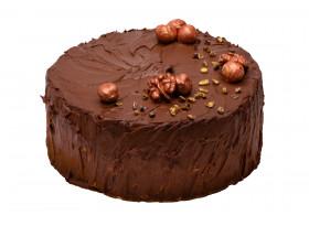 Торт шоколадный с вишней безлактозный
